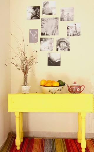 שידה צהובה