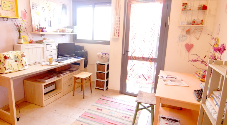 חדר עבודה ויצירה