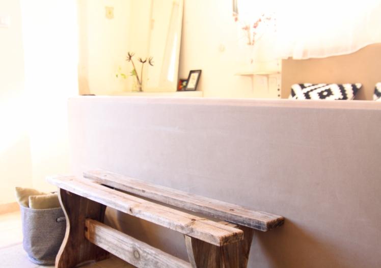 חדר שינה חומרים טבעיים