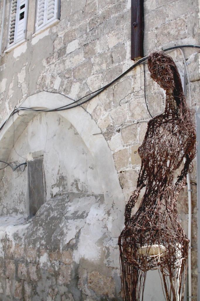 כניסה לבית של ניהאד דביט